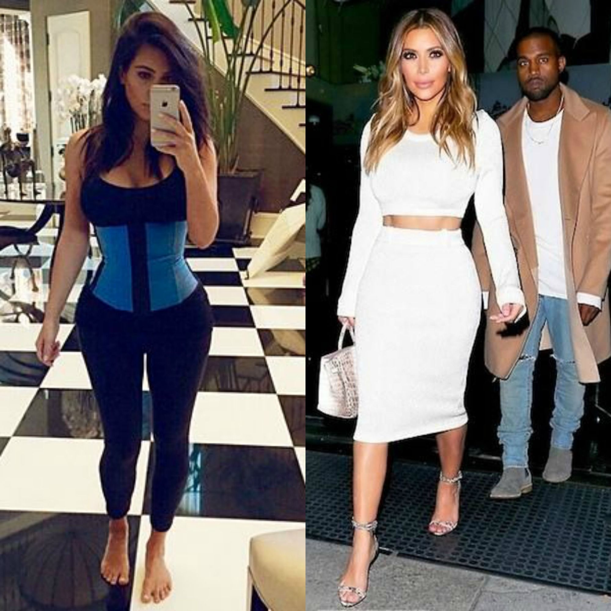 053cb6a56d How Kim Kardashian got her small waist after having North. We show you how  to waist train for dramatic results.
