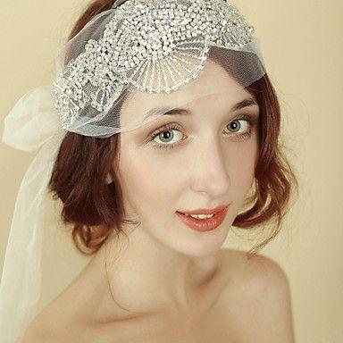 Celada Bandas de cabeza Boda/Ocasión especial Rhinestone Mujer Boda/Ocasión especial – EUR € 47.97