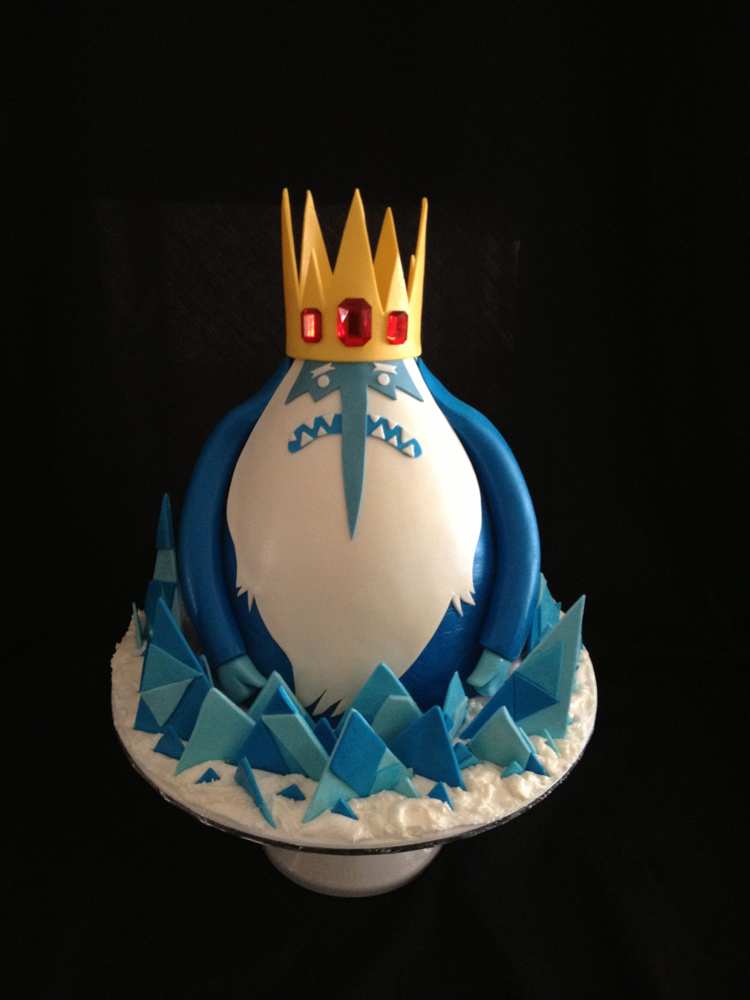 For my Sons 10th birthday The Ice King from the cartoon series