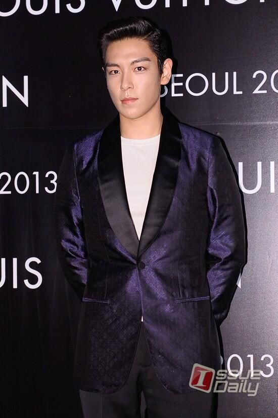 T.O.P @ Hyundai Department Store's Louis Vuitton Preview.