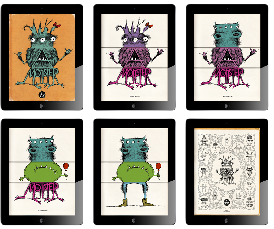 This App Is Digital Flip Book That Allows Students To