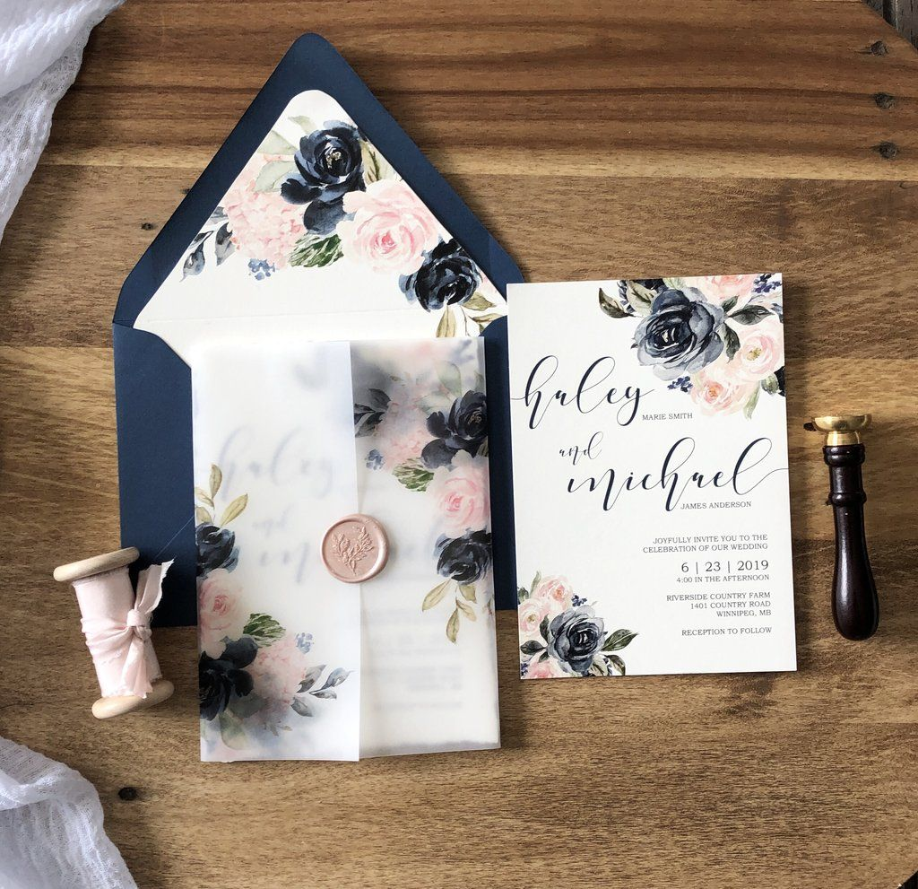 Fairy Lights Wedding Invite Template Fairytale Wedding