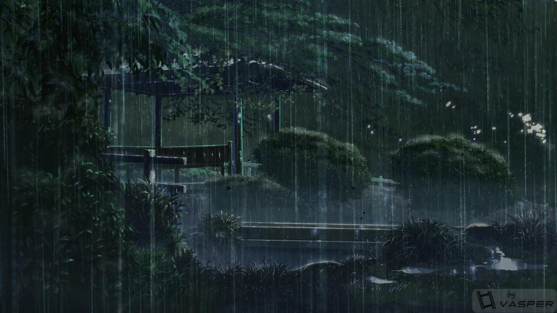 Kotonoha No Niwa The Garden Of Words Scenery Anime Filmes