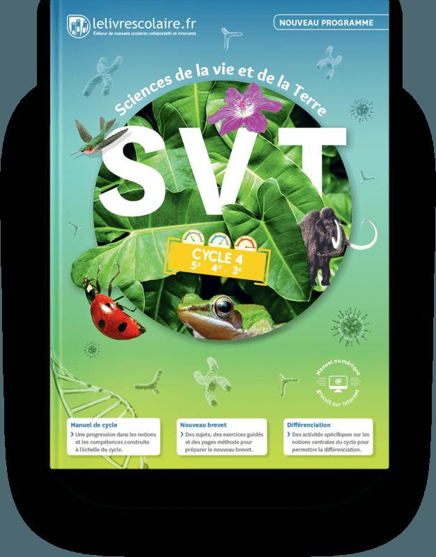 Livre Scolaire Svt Cycle 4 : livre, scolaire, cycle, Couverture, Livre, Cycle