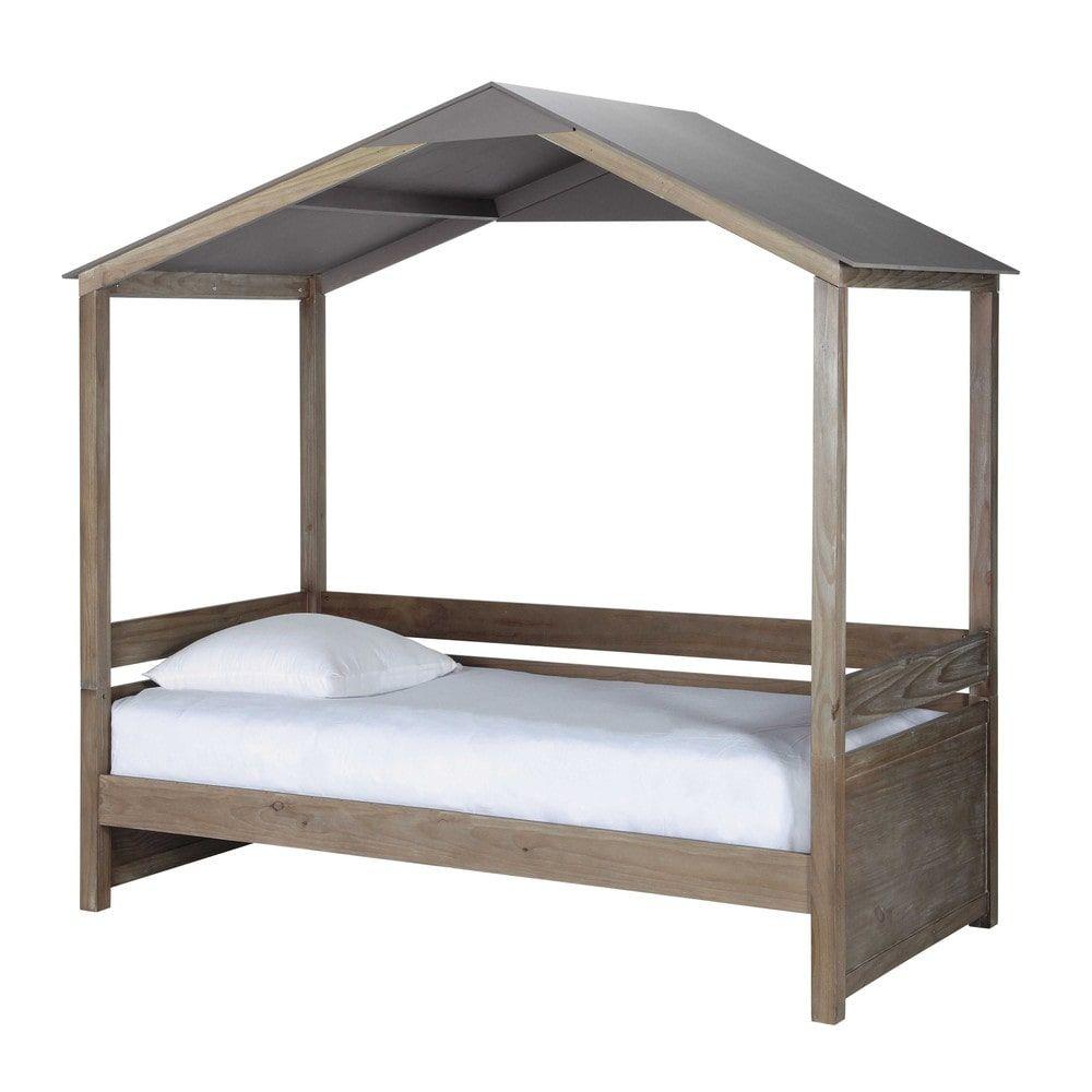 Hüttenbett für Kinder, 90 x 190   für Kinder, Babyzimmer und ...