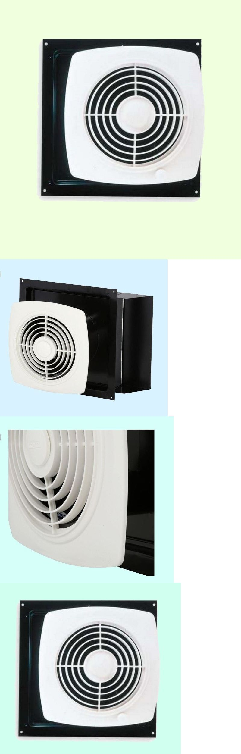 Range Hoods 71253 Kitchen Exhaust Fan White Through Wall Ventilation Laundry Room Workshop Buy It Exhaust Fan Kitchen Exhaust Fan Kitchen Exhaust
