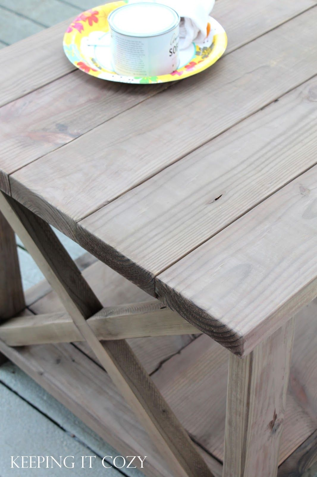 Weathered Gray Stain On Pine