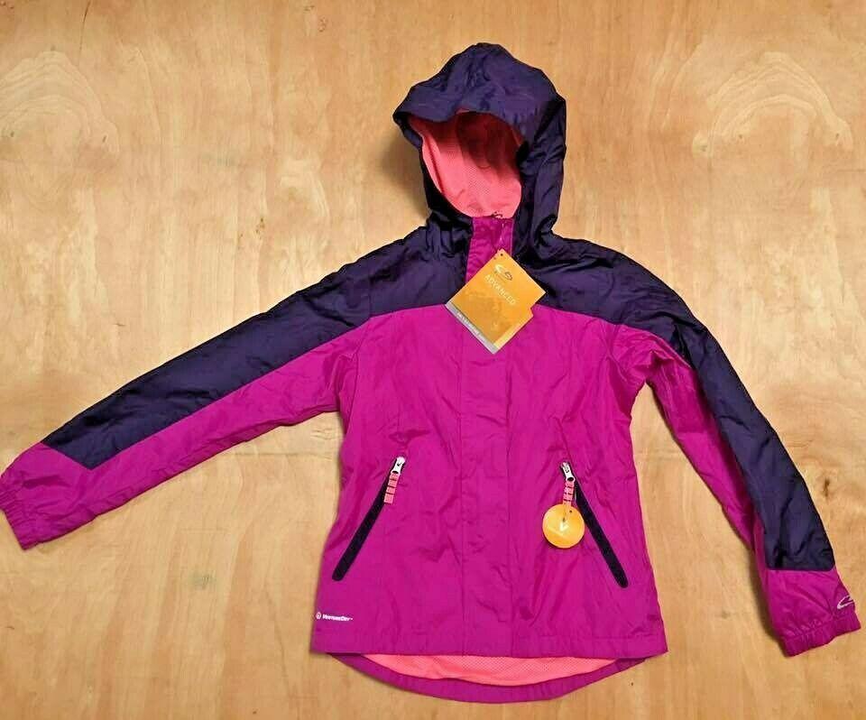 2feb5b055 Details about Girls Windbreaker Water Wind Resistant All Weather ...