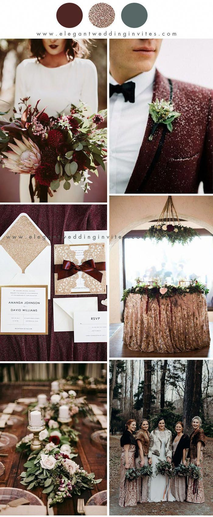 10 Green And Red Christmas Wedding Ideas For Winter 2020 Winter