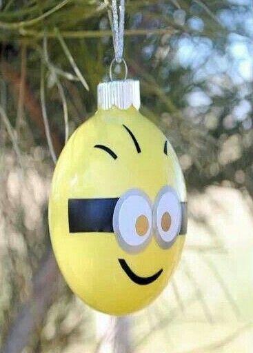 minion ornament - Minion Christmas Ornament