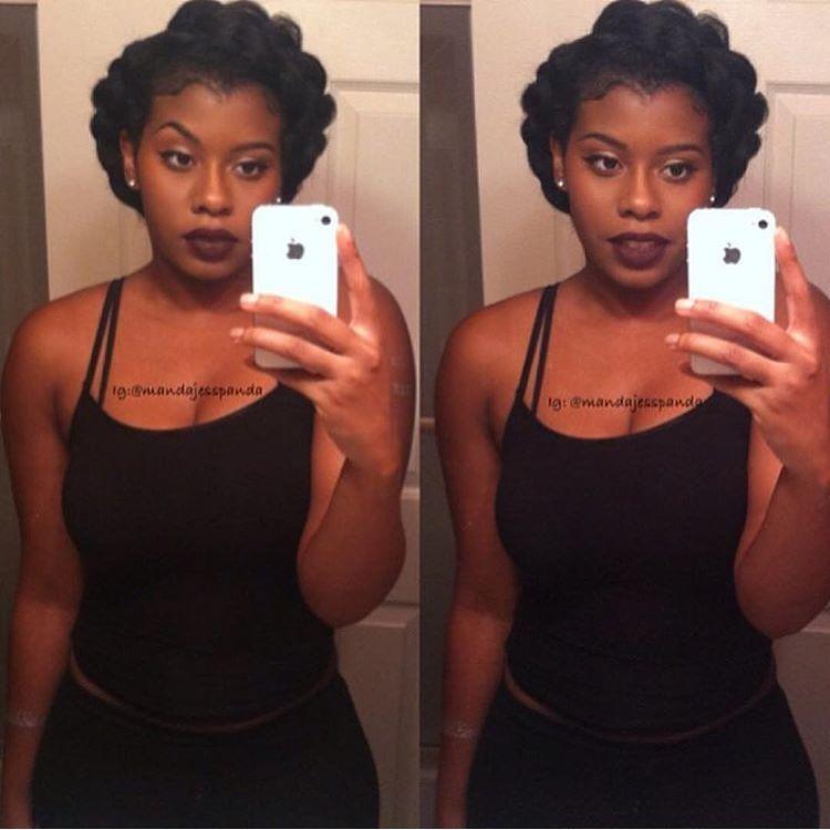 Mandajesspanda ️ ️ ️ ️ ️ ️ Her Hair Killa Pinterest