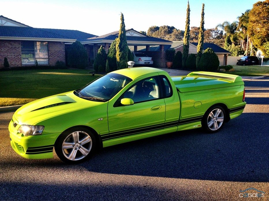 2006 Ford Falcon Ute Bf Xr8 Sports Automatic Australian Cars