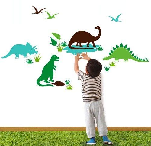 מדבקת דינוזאורים