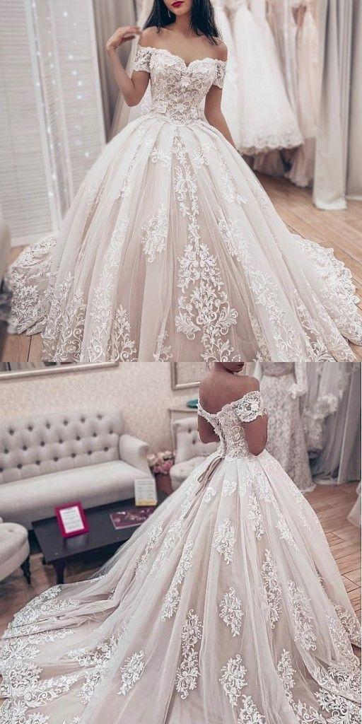 Brautkleider Prinzessin | Spitze Hochzeitskleider Online Kaufen