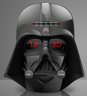 dark vador radio reveil radio reveil dark vador star wars. Black Bedroom Furniture Sets. Home Design Ideas