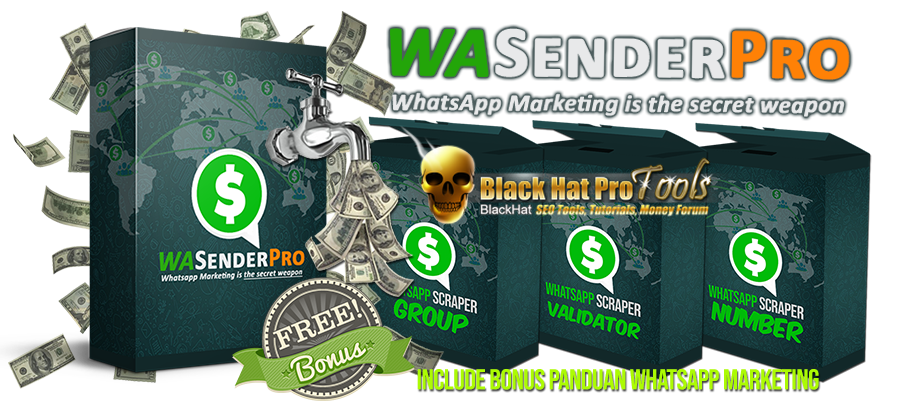 GET] WA Sender Pro V6 Cracked - Whatsapp Sender Mass
