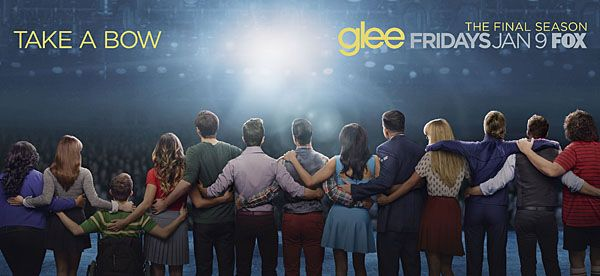 First Look: The Glee Cast Embraces Their Final Curtain Call in New Poster - Today's News: Our Take | TVGuide.com