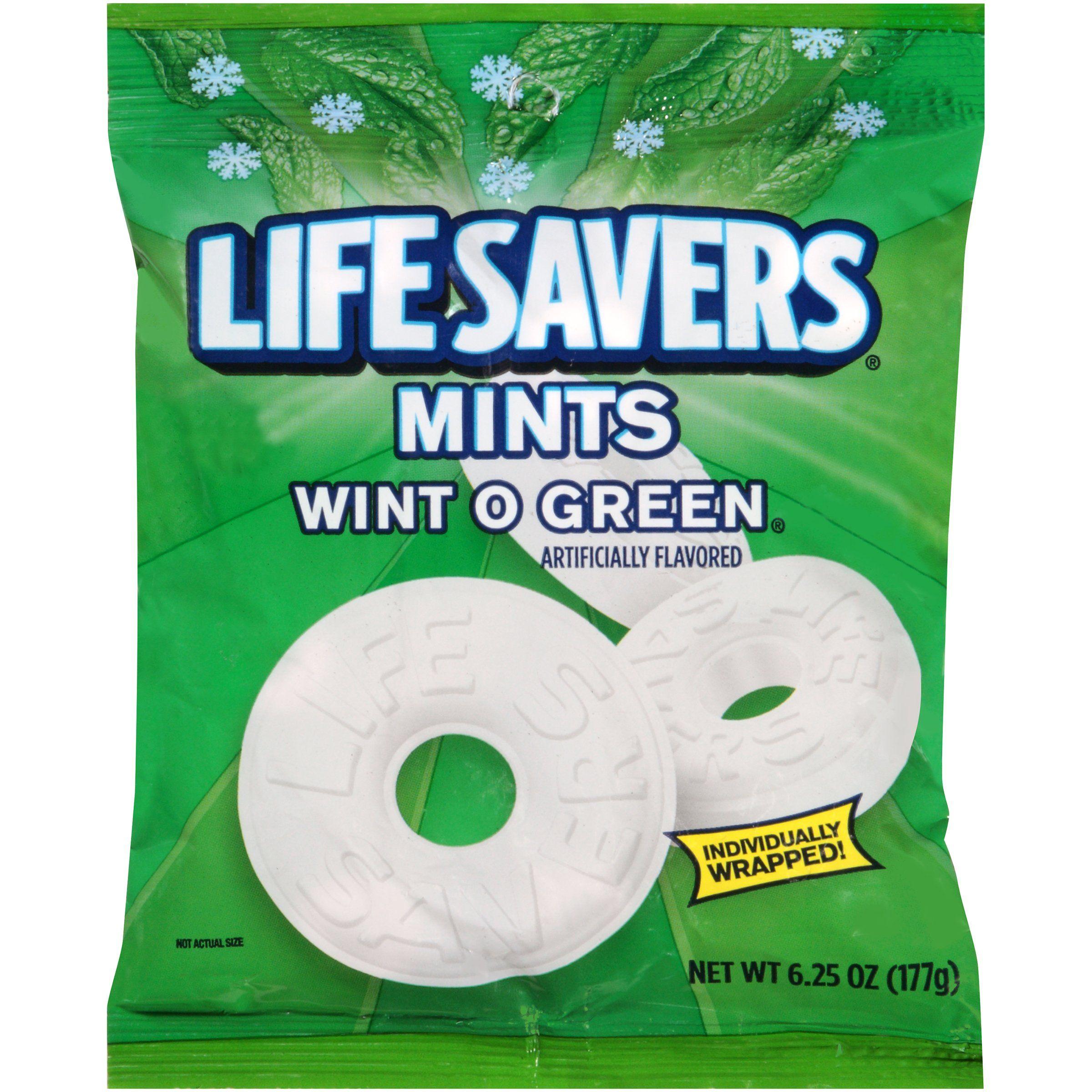 Lifesavers wintogreen mints mint candy hard candy