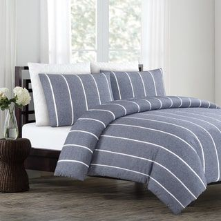 Shop for Soho Yarn Dyed Cotton Duvet Cover Set. Get free shipping at Overstock.com - Your Online Fashion Bedding Outlet Store! Get 5% in rewards with Club O! - 20616195