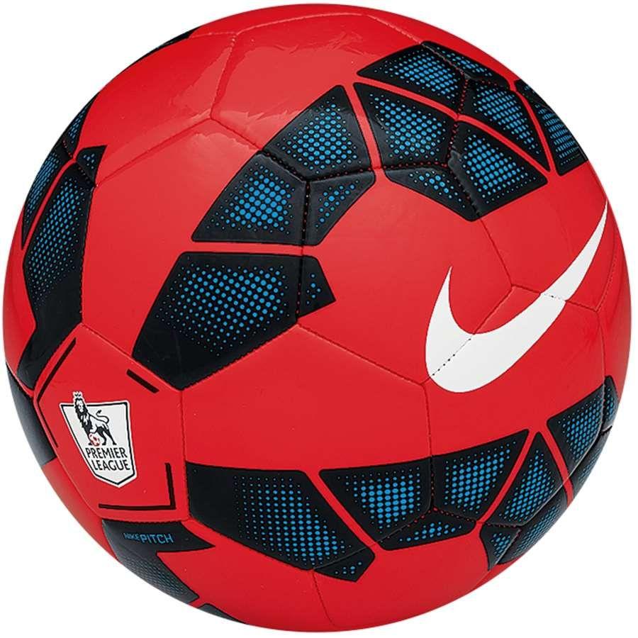 Bola Nike Pitch EPL Campo Vermelha  d4c55ff43fd69
