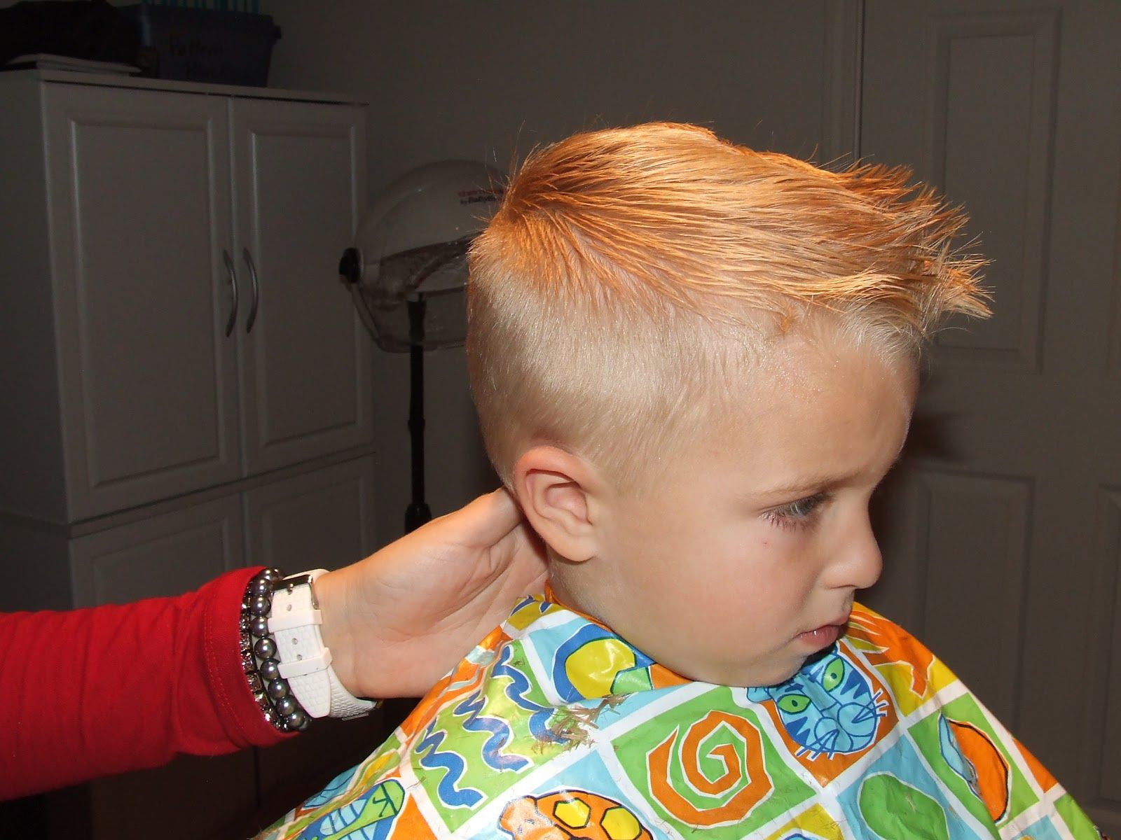 simply everthing i love: how to cut boys hair the professional