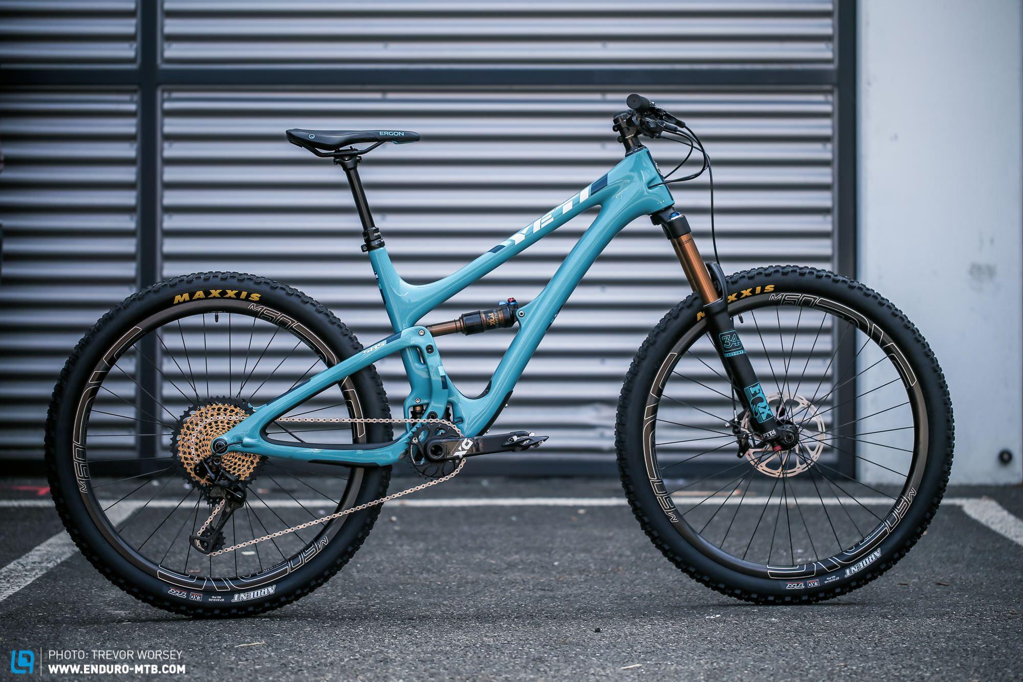 Yeti Stellt Neues Sb5 Und Uberarbeitetes Sb5c Vor Mountainbike