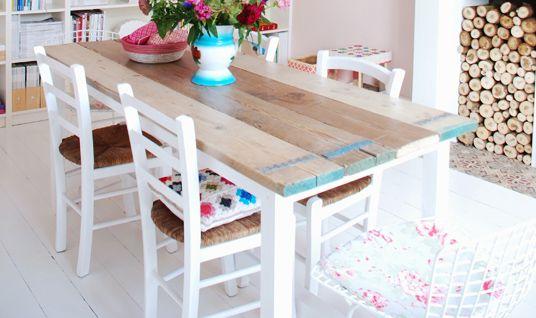 DIY Dining Room Table Inspiration