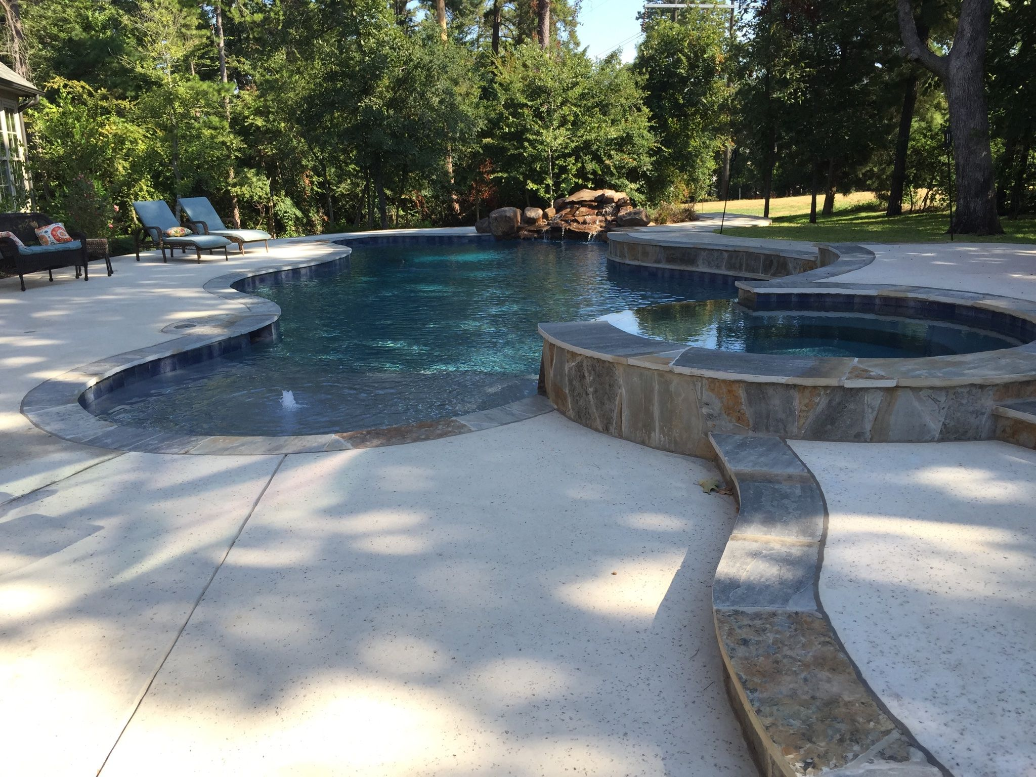 Gunite Pool Designs Cold Spring Harbor Gunite Pool Amp Spa