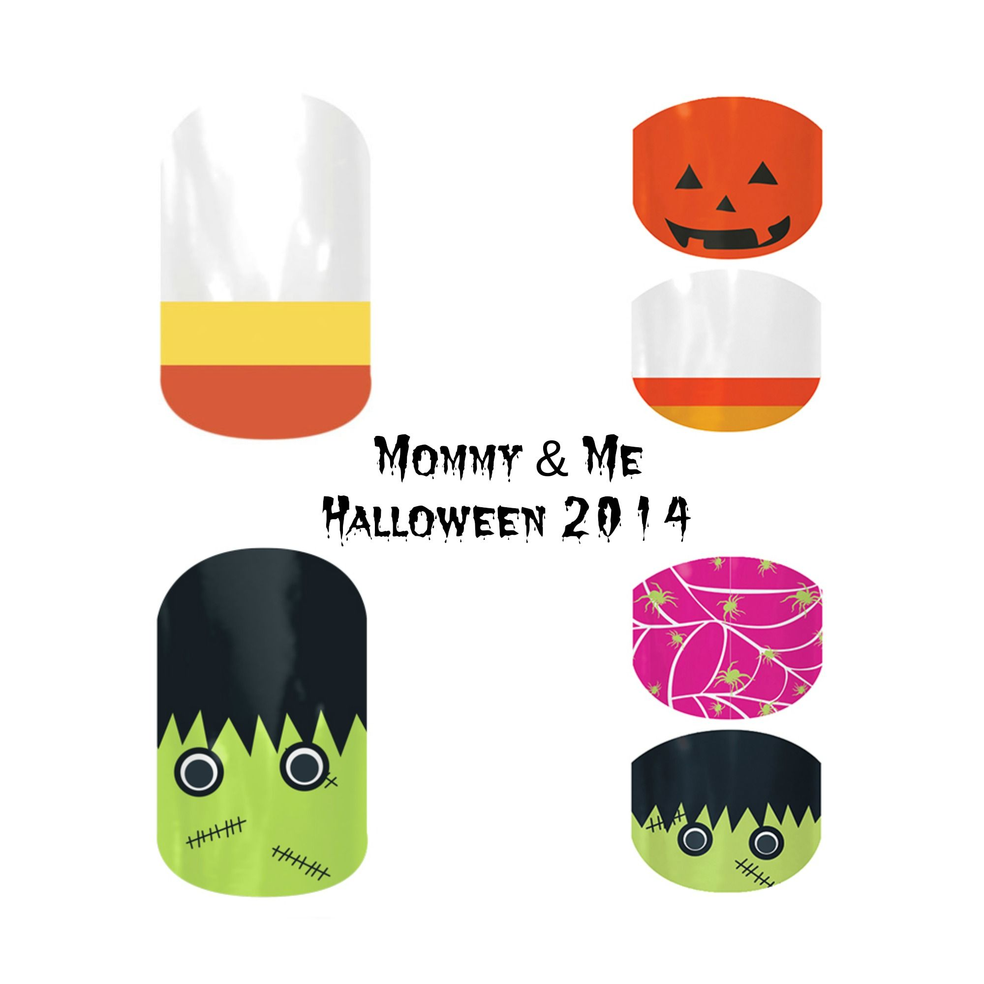 Mommy & Me | Jamberry Nails | Halloween 2014 | # ...