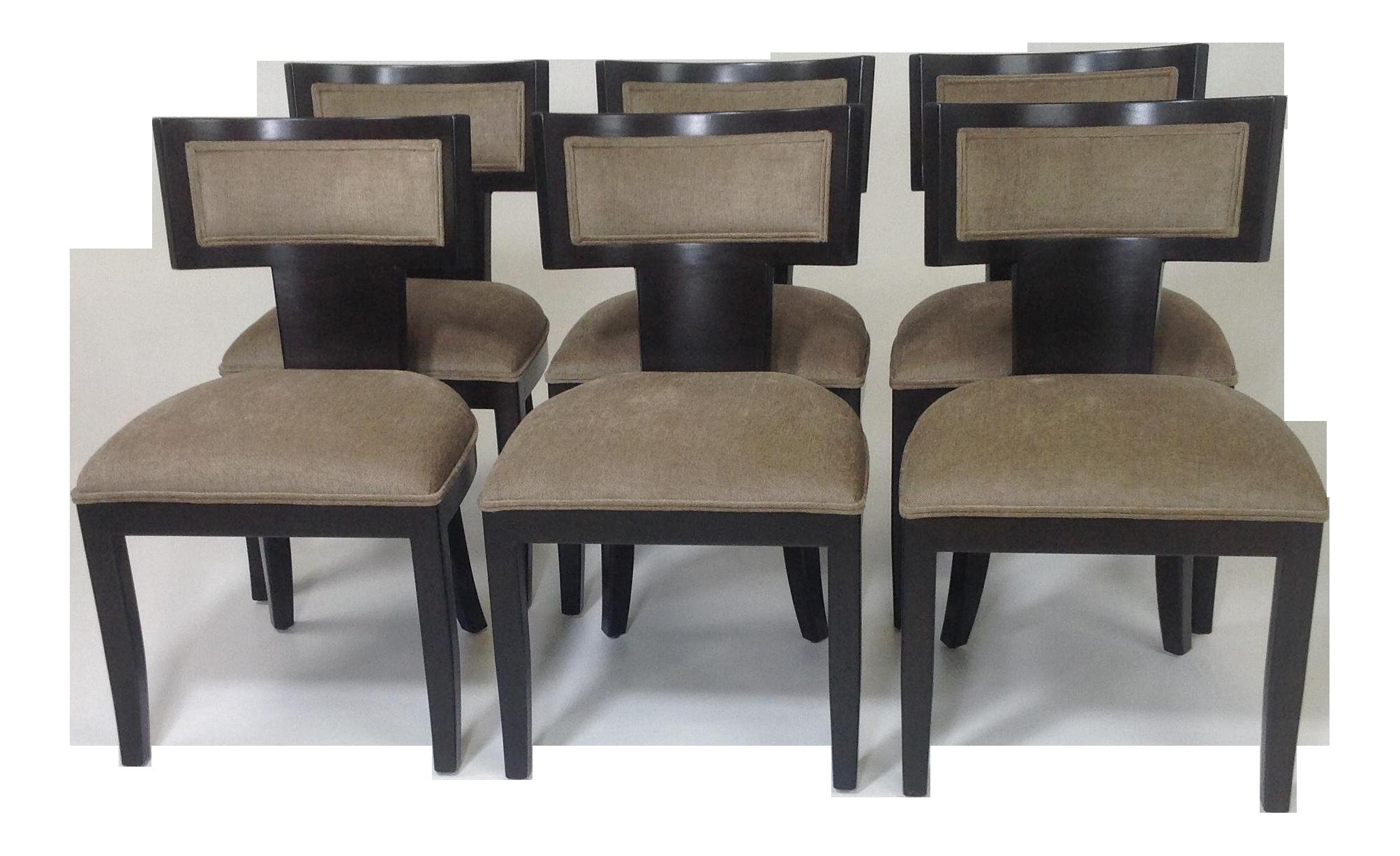 Astounding Mid Century Modern Klismos Dining Chairs Set Of 6 Austin Unemploymentrelief Wooden Chair Designs For Living Room Unemploymentrelieforg