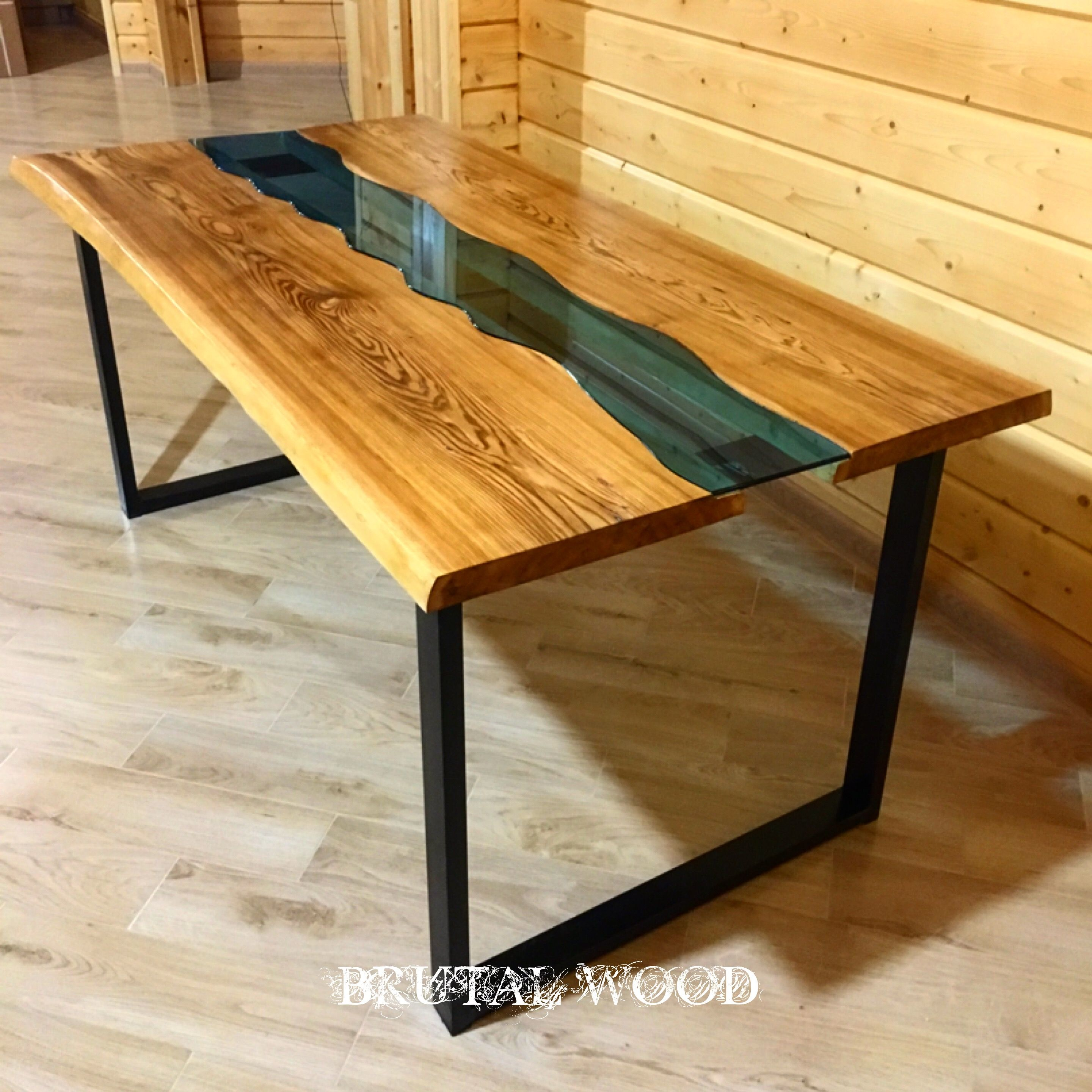Pin von Brutal-wood auf Table river table | Pinterest