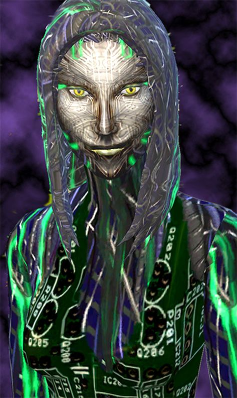 Mod The Sims: SHODAN from System Shock SCI FI sims model by