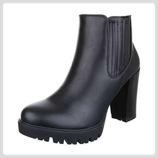 Ital Design Klassische Stiefeletten Damen Schuhe