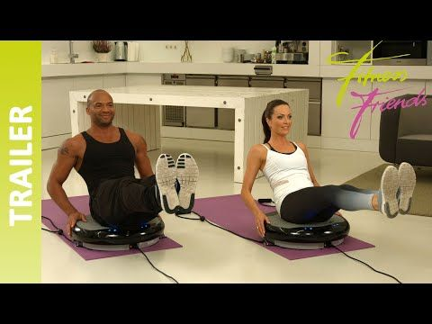 10 Minuten Workout – Vibrationsplatte Slim - Trailer [HD] II Fitness Friends #fitnessvideos