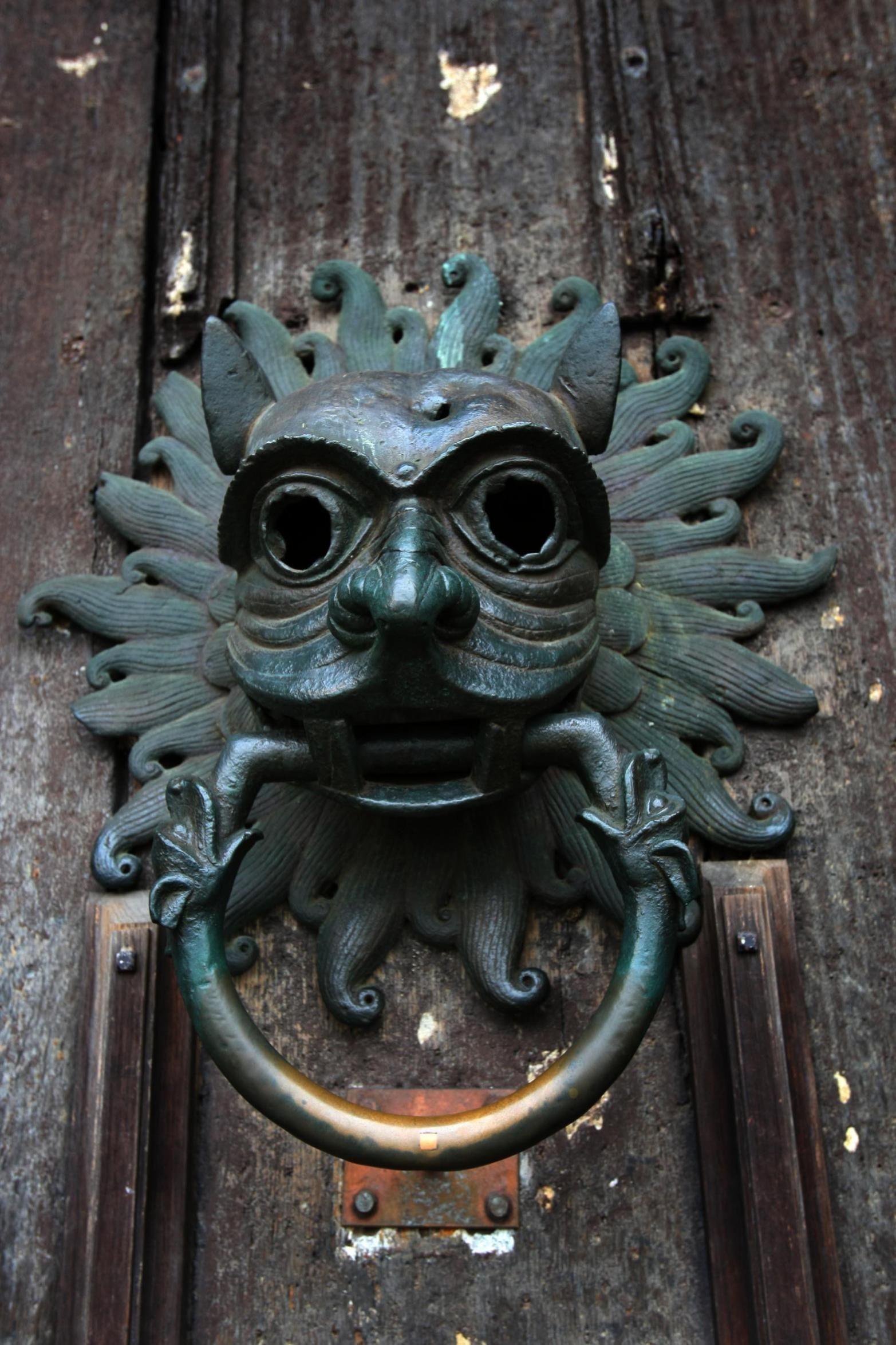 Use Unusual Door Knockers Art Nouveau To Delight Your Door