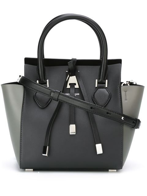 39c7ddfe0f4b6b Shop Michael Kors small 'Miranda' tote in Jofré from the world's best  independent boutiques at farfetch.com. Shop 300 boutiques at one address.