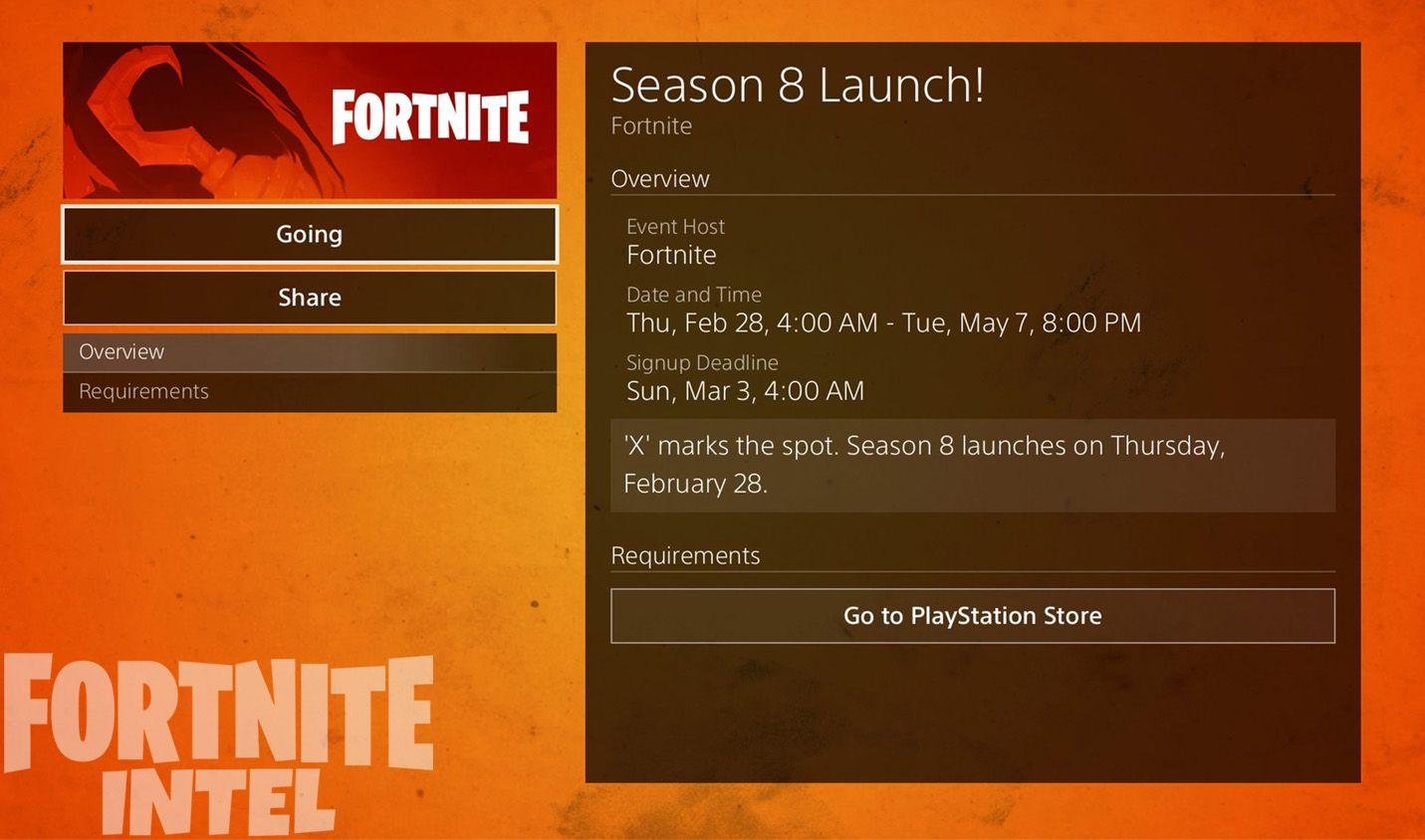 Second Fortnite Season 8 Teaser Pin On Fortnite
