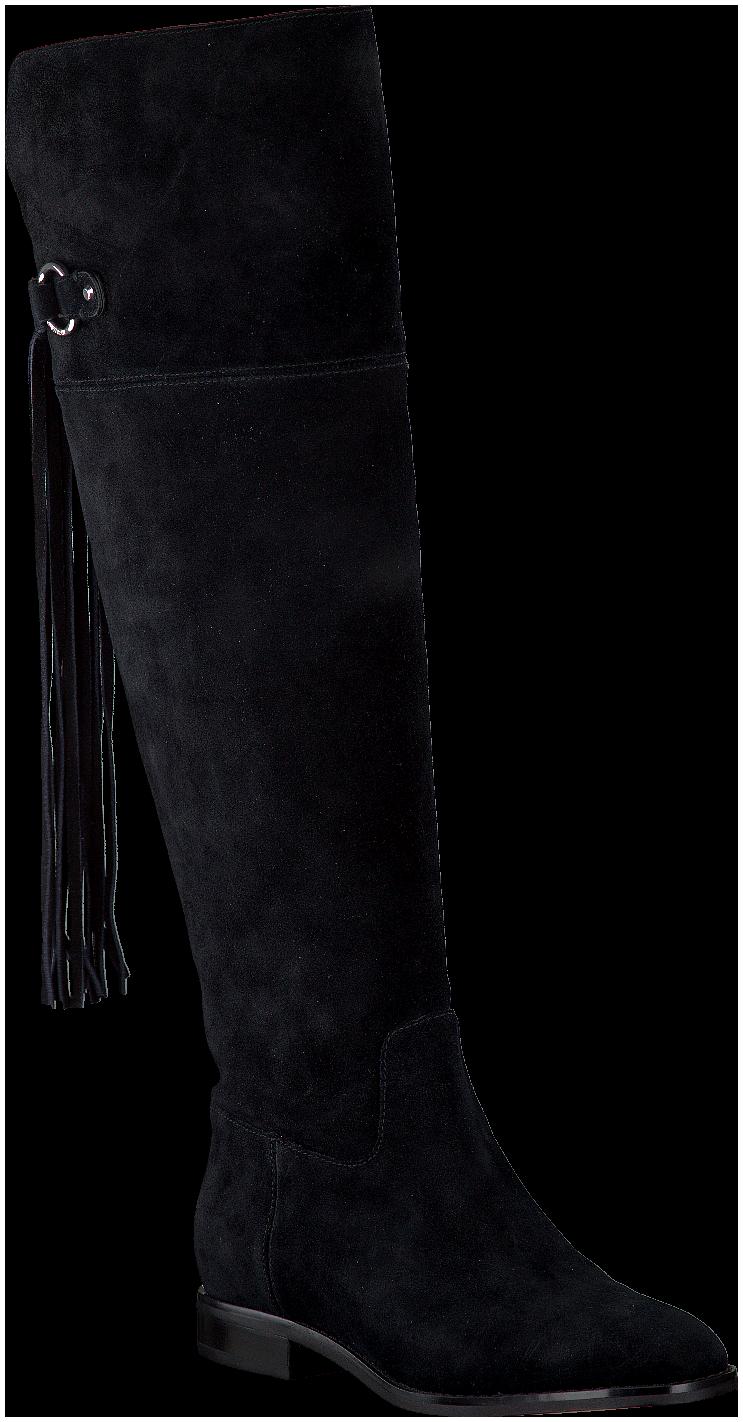 0af9ba612a1 Zwarte MICHAEL KORS Lange laarzen RHEA FLAT BOOT | Shoes❤ | Boots ...