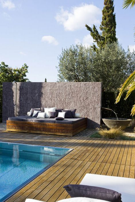 Pin di mommo design su pools pinterest terraza jardin for Decorazioni piscina