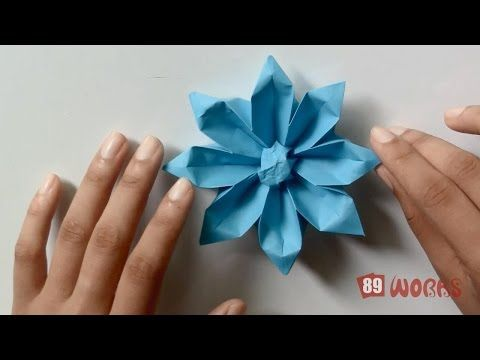 Origami Hand Works Gerbera Flower Handiworks 04 Youtube Origami Flores De Papel Rosas