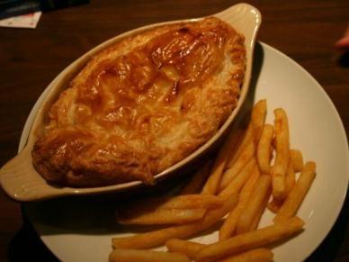 'Pub Grub' Chicken Pie: Delicious Puff Pastry Pie filled ...