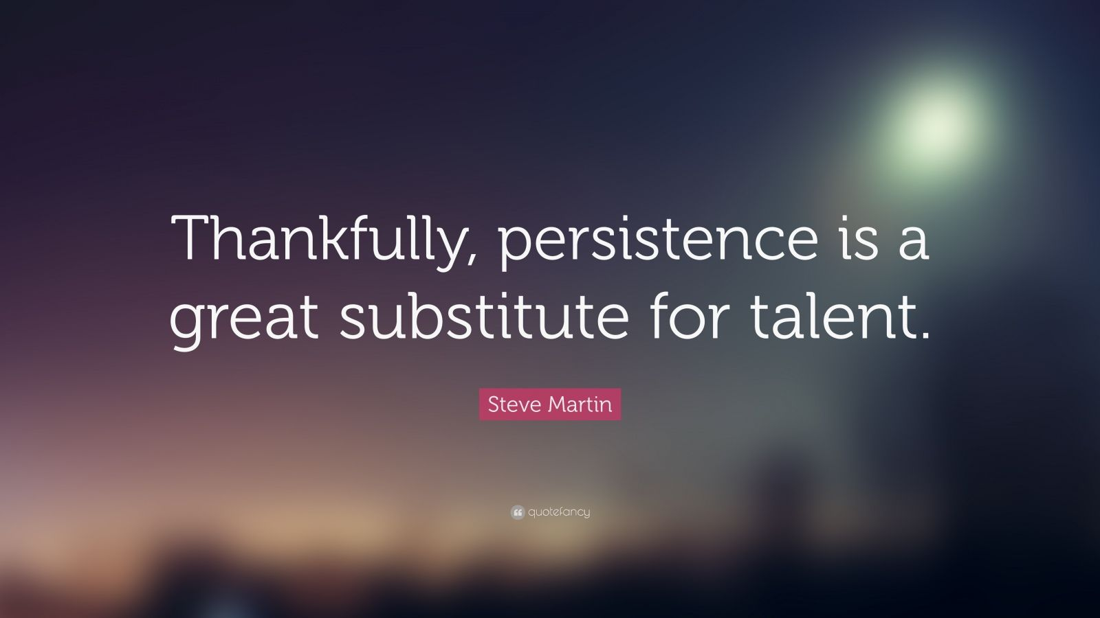 """Persistence Quotes Persistence Quotes """"Thankfully Persistence Is A Great Substitute"""