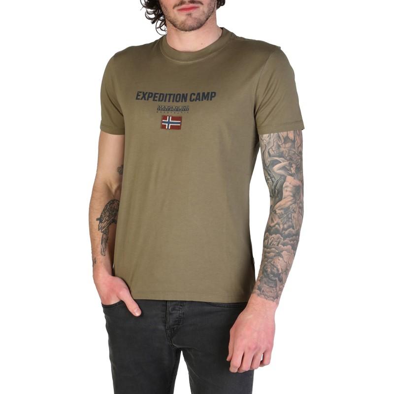Napapijri Sonthe Men Grey T-Shirts