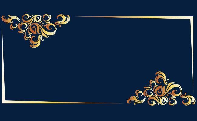 Gold Line Border European Vector Frame Border Vector Vector Lines Png Transparent Clipart Image And Psd File For Free Download Floral Border Design Poster Background Design Blue Texture Background