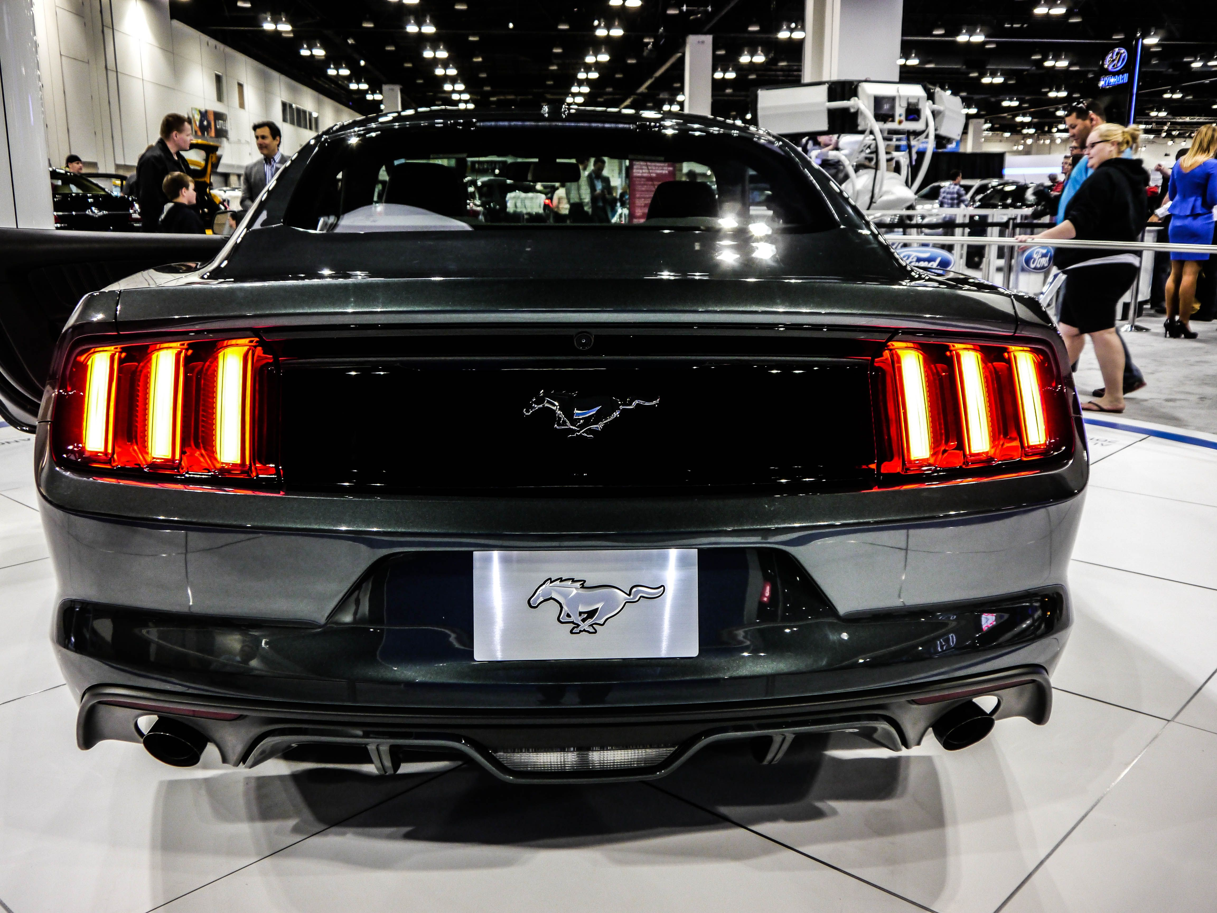 Black 2015 Ford Mustang Cars