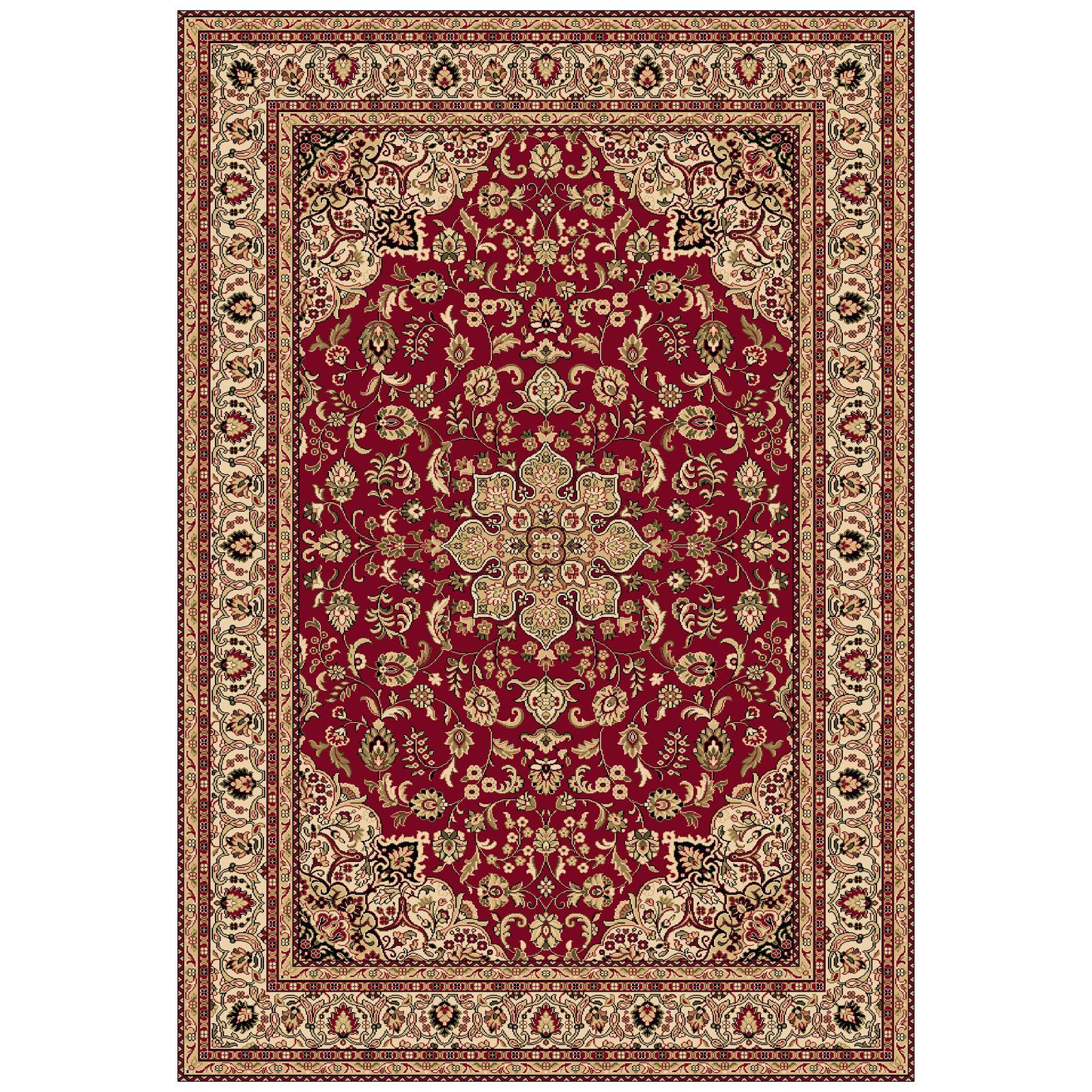 ORIENTAL CARPETS | Dynamic Rugs Shiraz 51010 Medallion Persian Rug - Red -  Area Rugs at