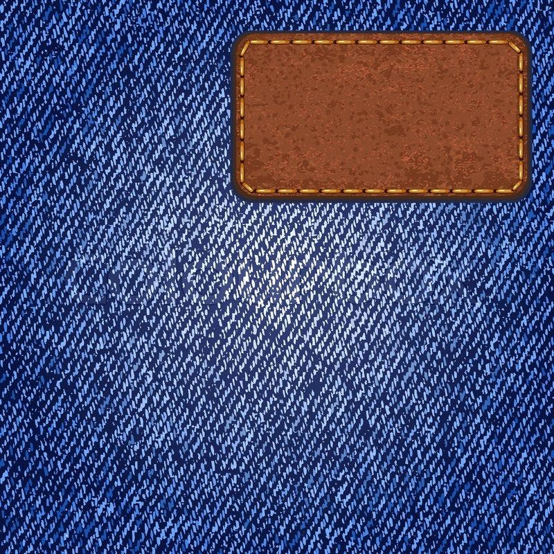 10783515-jeans-texture-with-leather-label-vector.jpg (800×800 ...