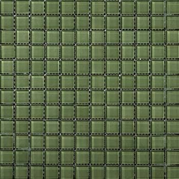 Emser Tile Lucente Billiard Green 1 X1 Mosaic On 12 5 X12 5 Mesh Emser Tile Emser Mosaic Glass