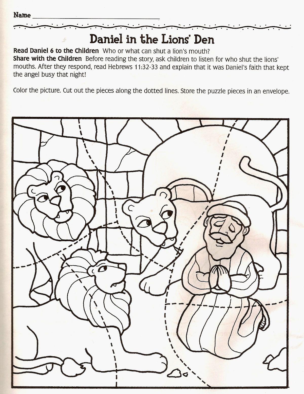 Daniel & the Lions Den (100% Free) Kids Story, Lesson ...