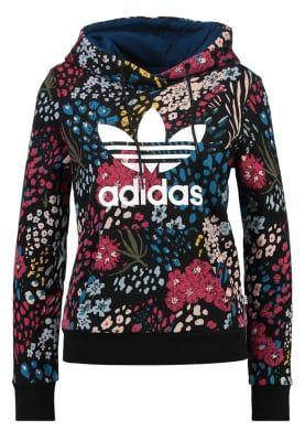 Adidas Hoodie sweater - multicolor floral print | Hoodies ...